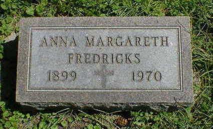 FREDRICKS, ANNA MARGARETH - Cerro Gordo County, Iowa | ANNA MARGARETH FREDRICKS