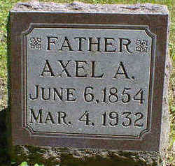 FREDRICKSON, AXEL A. - Cerro Gordo County, Iowa | AXEL A. FREDRICKSON