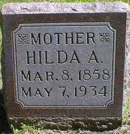 FREDRICKSON, HILDA A. - Cerro Gordo County, Iowa   HILDA A. FREDRICKSON