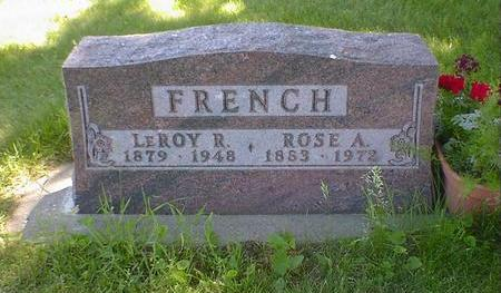 FRENCH, ROSE A. - Cerro Gordo County, Iowa | ROSE A. FRENCH