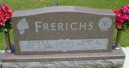 FRERICHS, EUNICE E. - Cerro Gordo County, Iowa   EUNICE E. FRERICHS
