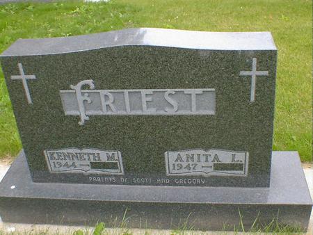 FRIEST, ANITA L. - Cerro Gordo County, Iowa | ANITA L. FRIEST