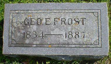 FROST, GEO. E. - Cerro Gordo County, Iowa | GEO. E. FROST