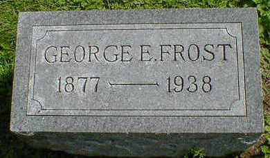 FROST, GEORGE E. - Cerro Gordo County, Iowa | GEORGE E. FROST