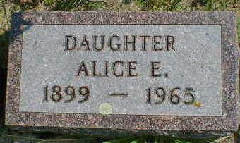 FUELEIGH, ALICE E. - Cerro Gordo County, Iowa | ALICE E. FUELEIGH