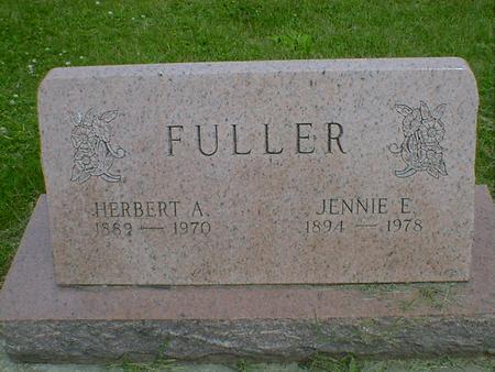 FULLER, JENNIE E. - Cerro Gordo County, Iowa | JENNIE E. FULLER