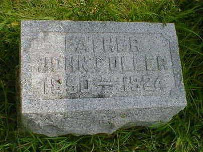 FULLER, JOHN - Cerro Gordo County, Iowa | JOHN FULLER