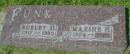 FUNK, ROBERT O. - Cerro Gordo County, Iowa   ROBERT O. FUNK