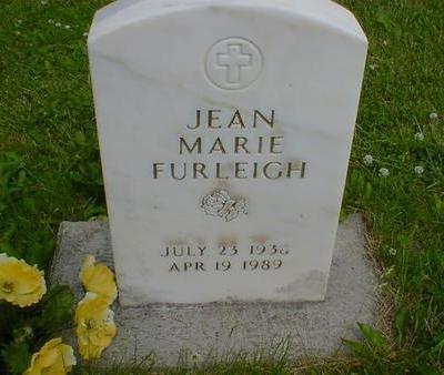 FURLEIGH, JEAN MARIE - Cerro Gordo County, Iowa   JEAN MARIE FURLEIGH