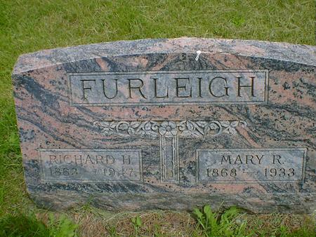 FURLEIGH, MARY R. - Cerro Gordo County, Iowa | MARY R. FURLEIGH