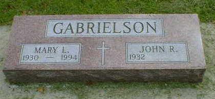 GABRIELSON, MARY L. - Cerro Gordo County, Iowa | MARY L. GABRIELSON