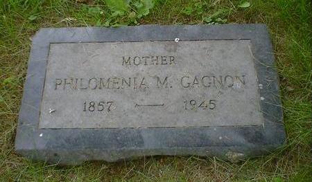 GAGNON, PHILOMENIA M. - Cerro Gordo County, Iowa | PHILOMENIA M. GAGNON