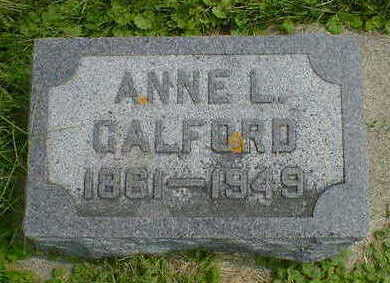 GALFORD, ANNE L. - Cerro Gordo County, Iowa   ANNE L. GALFORD