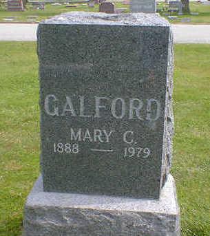 GALFORD, MARY C. - Cerro Gordo County, Iowa | MARY C. GALFORD