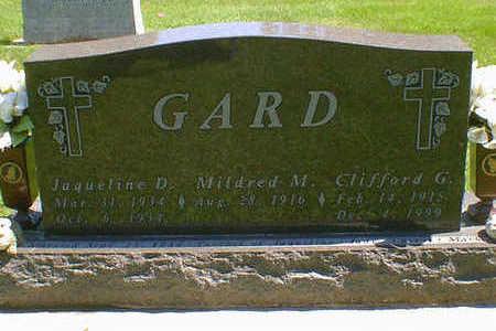 GARD, CLIFFORD G. - Cerro Gordo County, Iowa | CLIFFORD G. GARD