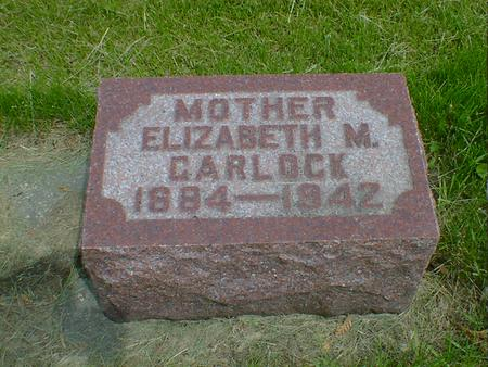 GARLOCK, ELIZABETH M. - Cerro Gordo County, Iowa   ELIZABETH M. GARLOCK