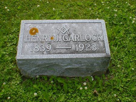 GARLOCK, HENRY J. - Cerro Gordo County, Iowa   HENRY J. GARLOCK