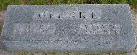GEHRKE, OSCAR R. - Cerro Gordo County, Iowa   OSCAR R. GEHRKE