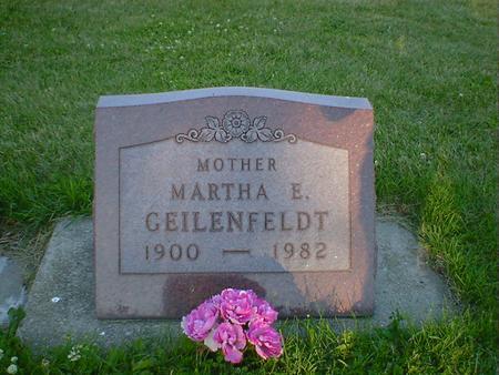 GEILENFELDT, MARTHA E. - Cerro Gordo County, Iowa | MARTHA E. GEILENFELDT
