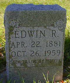 GEPHART, EDWIN R. - Cerro Gordo County, Iowa   EDWIN R. GEPHART