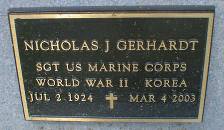 GERHARDT, NICHOLAS J. - Cerro Gordo County, Iowa | NICHOLAS J. GERHARDT