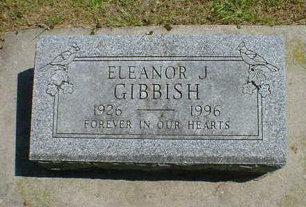 GIBBISH, ELEANOR J. - Cerro Gordo County, Iowa | ELEANOR J. GIBBISH