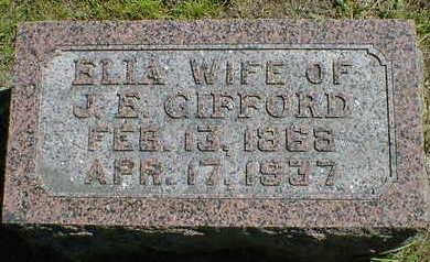 GIFFORD, ELLA - Cerro Gordo County, Iowa | ELLA GIFFORD