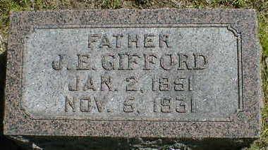 GIFFORD, J.E. - Cerro Gordo County, Iowa | J.E. GIFFORD