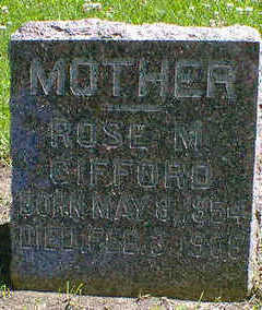 GIFFORD, ROSE M. - Cerro Gordo County, Iowa | ROSE M. GIFFORD