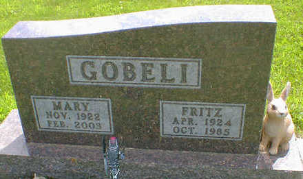 GOBELI, FRITZ - Cerro Gordo County, Iowa | FRITZ GOBELI