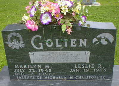 GOLIEN, MARILYN MARGARET (PARMELY) - Cerro Gordo County, Iowa   MARILYN MARGARET (PARMELY) GOLIEN