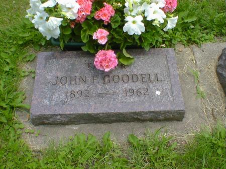GOODELL, JOHN F. - Cerro Gordo County, Iowa | JOHN F. GOODELL