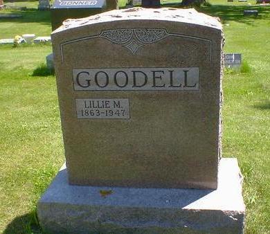 GOODELL, LILLIE M. - Cerro Gordo County, Iowa | LILLIE M. GOODELL
