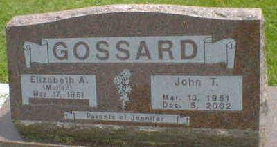 GOSSARD, JOHN T. - Cerro Gordo County, Iowa | JOHN T. GOSSARD