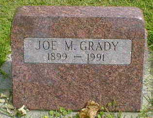 GRADY, JOE M. - Cerro Gordo County, Iowa | JOE M. GRADY