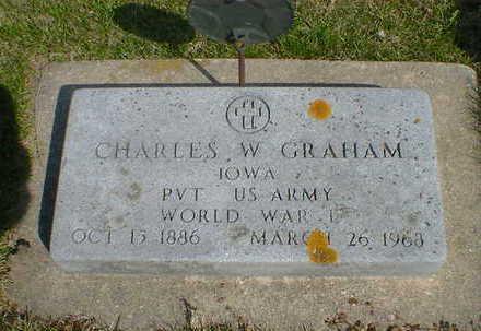 GRAHAM, CHARLES W. - Cerro Gordo County, Iowa | CHARLES W. GRAHAM