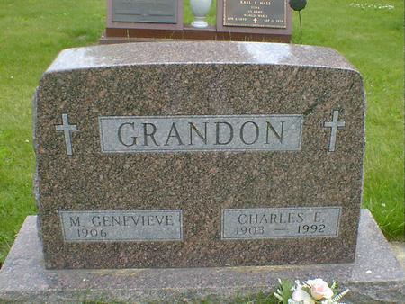 GRANDON, M. GENEVIEVE (FEX) - Cerro Gordo County, Iowa | M. GENEVIEVE (FEX) GRANDON