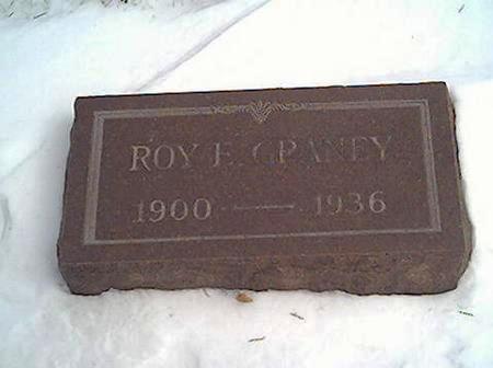 GRANEY, ROY - Cerro Gordo County, Iowa   ROY GRANEY