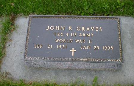 GRAVES, JOHN R. - Cerro Gordo County, Iowa   JOHN R. GRAVES