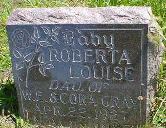 GRAY, ROBERTA LOUISE - Cerro Gordo County, Iowa | ROBERTA LOUISE GRAY