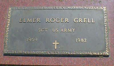 GRELL, ELMER ROGER - Cerro Gordo County, Iowa   ELMER ROGER GRELL