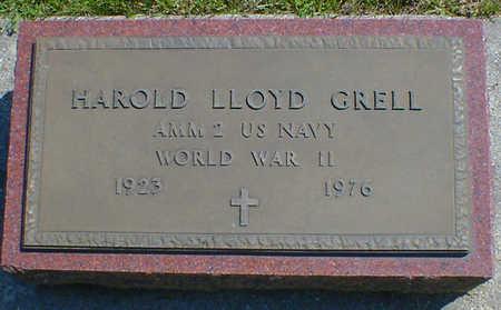 GRELL, HAROLD LLOYD - Cerro Gordo County, Iowa | HAROLD LLOYD GRELL