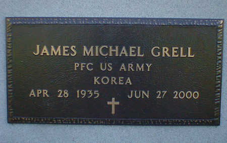 GRELL, JAMES MICHAEL - Cerro Gordo County, Iowa   JAMES MICHAEL GRELL