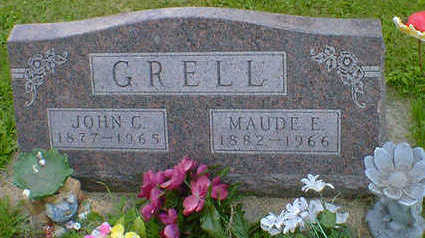 GRELL, MAUDE E. - Cerro Gordo County, Iowa | MAUDE E. GRELL