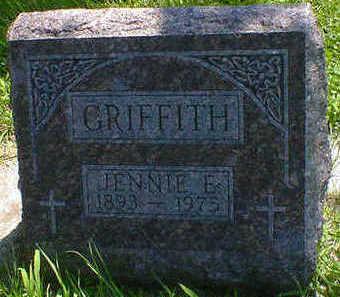 GRIFFITH, JENNIE E. - Cerro Gordo County, Iowa | JENNIE E. GRIFFITH