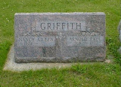 GRIFFITH, NANCY AILEEN - Cerro Gordo County, Iowa   NANCY AILEEN GRIFFITH