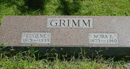 GRIMM, NORA E. - Cerro Gordo County, Iowa | NORA E. GRIMM