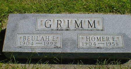 GRIMM, BEULAH E. - Cerro Gordo County, Iowa   BEULAH E. GRIMM