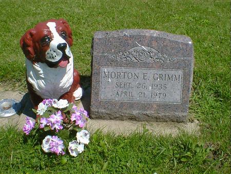 GRIMM, MORTON E. - Cerro Gordo County, Iowa | MORTON E. GRIMM