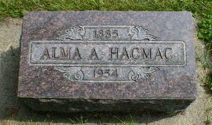 HACMAC, ALMA A. - Cerro Gordo County, Iowa | ALMA A. HACMAC